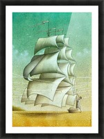 Boat Picture Frame print