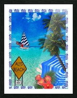 SS Wade Picture Frame print