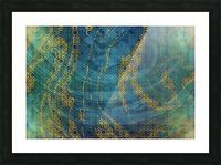 Geometric XXXXXIII Picture Frame print