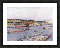 Summer afternoon, the Isles of Shoals by Hassam Picture Frame print