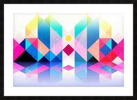 Geometric XXXXXV Picture Frame print