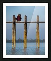 U-bein bridge Myanmar Picture Frame print