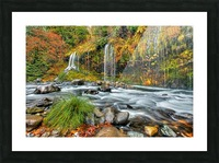 ColorFall Picture Frame print