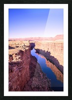 Marble Canyon Picture Frame print