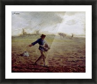 The Sower - Walters Picture Frame print