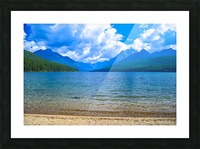 Bowman Lake Picture Frame print