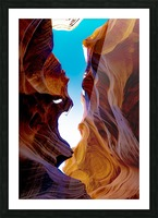 Lower Antelope Canyon Picture Frame print