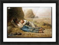 Sleeping peasants Picture Frame print