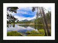 Sprague Lake Picture Frame print