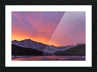 Clinton Gulch Picture Frame print