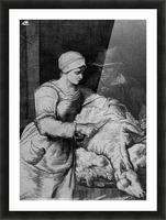 Sheep shearer Picture Frame print