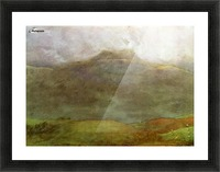 Hills Picture Frame print