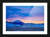 Emigrant Peak Picture Frame print