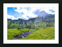 Logan Creek Picture Frame print