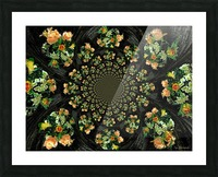 Floral Creation Picture Frame print