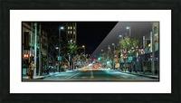 Santa Monica Picture Frame print