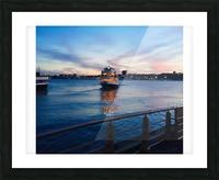Sky & Sea Picture Frame print