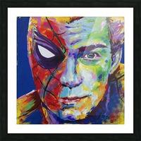 Spiderman_Portrait Art - Tadaomi - Picture Frame print