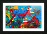 Expressionism Picture Frame print