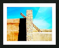 Lines Picture Frame print