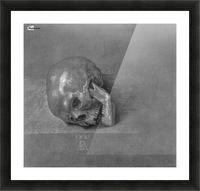 Skull Picture Frame print