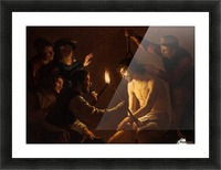 Christ crowned with thorns Picture Frame print