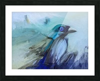 Bird of Heaven Picture Frame print