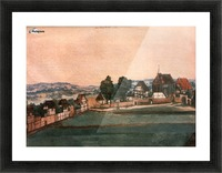 Erlauterung Johanniskirchhof Picture Frame print