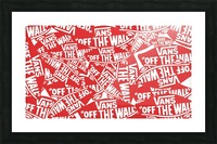 VANS Shoes Poster Picture Frame print