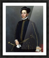 Portrait of a Gentleman ('Il Gentile Cavaliere') Picture Frame print