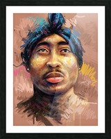 2pac Picture Frame print