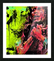 Bmarley3 Picture Frame print