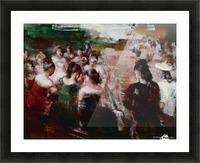 Social Circle Picture Frame print