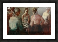 The Gathering Picture Frame print