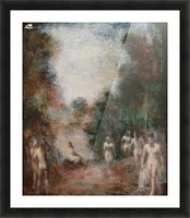 Sylvan Fantasy Picture Frame print