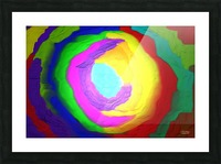1-Beautiful Color Chaos 1 Picture Frame print
