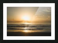Golden Soul Picture Frame print
