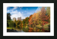 Fall colors in NY Picture Frame print