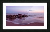 Coney Island sunset Picture Frame print