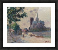 Notre-Dame de Paris Picture Frame print
