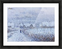 Wind with Snow, 24 March 1899, Saint-Cyr-du-Vaudreuil Picture Frame print