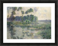 The Banks of the Eure, Saint-Cyr-du-Vaudreuil Picture Frame print