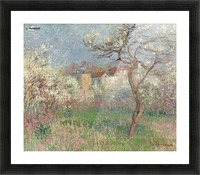 Spring, Outskirts of Pontoise Picture Frame print