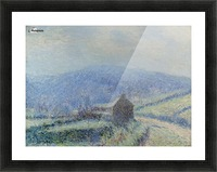 The Frost at Huelgoat, Finistere Picture Frame print