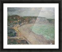 The Beach at Fecamp Picture Frame print