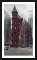 Toronto Gooderham Building Picture Frame print