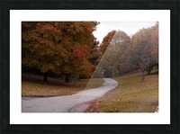 Autumn in the park Picture Frame print