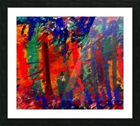 NKL abstract-101 Picture Frame print
