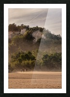 Hot day at the Bluffs Picture Frame print