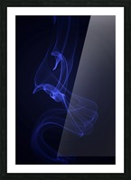 smoke Picture Frame print